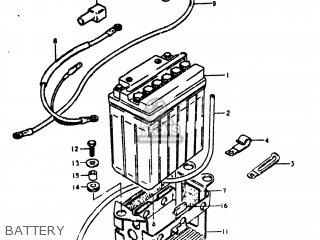 Suzuki Gs750l 1981 (x) Usa (e03) parts list partsmanual