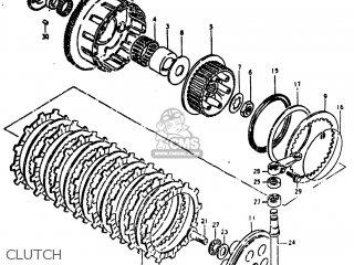 Suzuki GS750L 1981 (X) USA (E03) parts lists and schematics