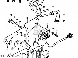 Suzuki Gs750t 1982 (z) Usa (e03) parts list partsmanual