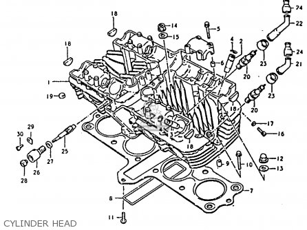 Suzuki GS850 1986 (G) GENERAL EXPORT (E01) parts lists and