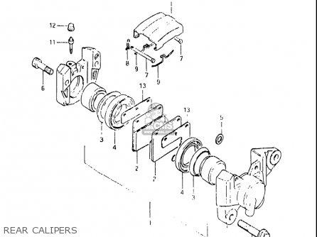 Suzuki Gs850 G 1982-1983 (usa) parts list partsmanual