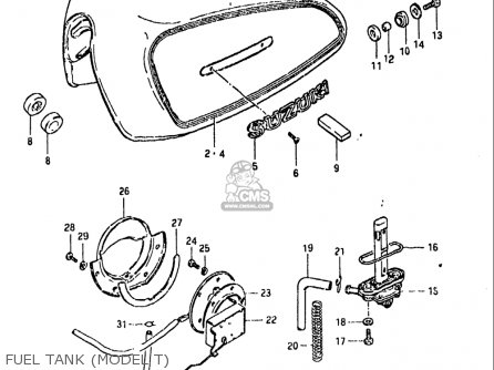Suzuki Gs850 Gl 1980-1981 (usa) parts list partsmanual