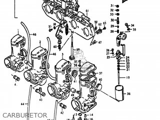 Suzuki GS850G 1979 (N) USA (E03) parts lists and schematics