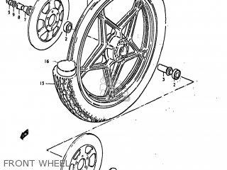 Suzuki GS850G 1979 (N) USA (E03) parts lists and schematics