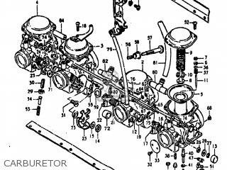 Suzuki Gs850g 1980 (t) Usa (e03) parts list partsmanual