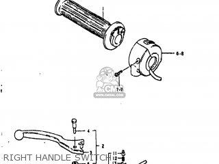 Suzuki GS850G 1981 (X) USA (E03) parts lists and schematics