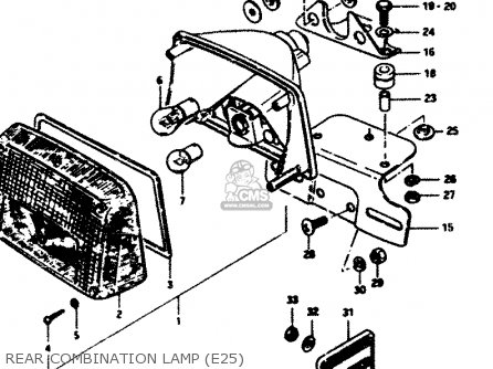 Suzuki Gs850g 1982 (z) General Export (e01) parts list