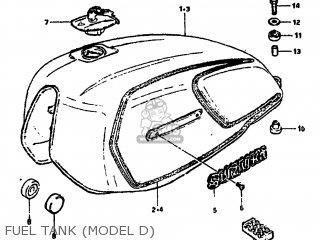 Suzuki GS850G 1982 (Z) USA (E03) parts lists and schematics