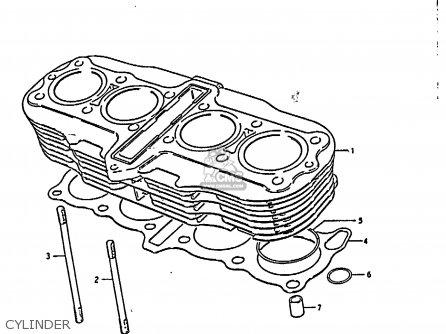 Suzuki GS850G 1986 (G) (E01 E02 E04 E06 E22 E24 E25) parts