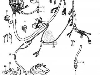 Suzuki Gs850gl 1980 (t) Usa (e03) parts list partsmanual