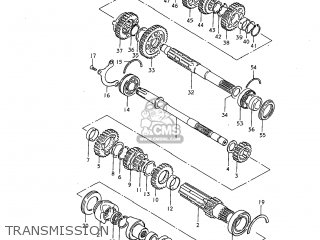 Suzuki GS850GL 1983 (D) USA (E03) parts lists and schematics