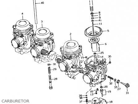 Suzuki Gsf1200 1999 (sax) parts list partsmanual partsfiche