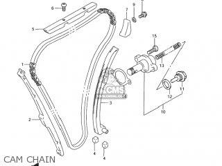 Suzuki Gsf1200 Bandit 2001 (k1) Usa (e03) parts list