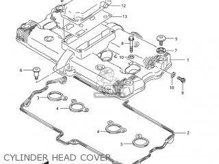 Suzuki GSF1200 BANDIT 2001 (K1) USA (E03) parts lists and