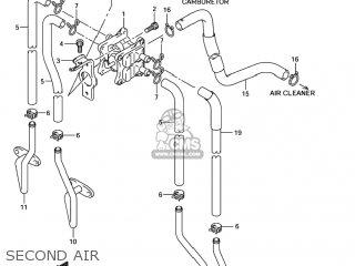Suzuki GSF1200 BANDIT 2002 (K2) USA (E03) parts lists and