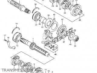 Suzuki GSF1200 BANDIT 2005 (K5) USA (E03) parts lists and