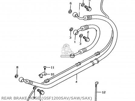 Suzuki GSF1200S 2000 (Y) (E02 E04 E17 E18 E22 E24 E25 E34