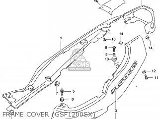 Suzuki Gsf1200s Bandit 1997 (v) Usa (e03) parts list