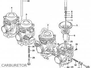 Suzuki Gsf1200s Bandit 2000 (y) Usa (e03) parts list