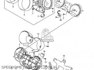 Suzuki GSF1200S BANDIT 2001 (K1) USA (E03) parts lists and schematics