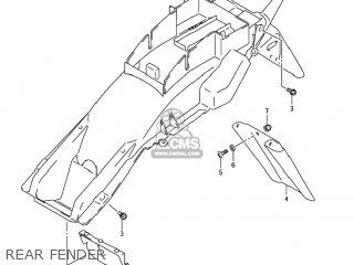 Suzuki GSF1200S BANDIT 2003 (K3) USA (E03) parts lists and