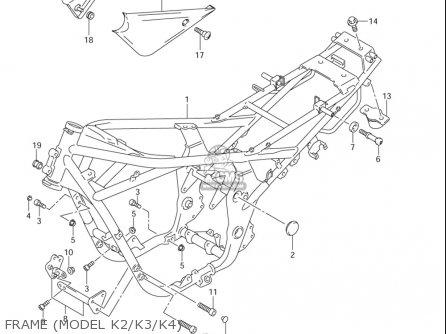 Suzuki Gsf1200 ,s,z Bandit 2001-2005 (usa) parts list