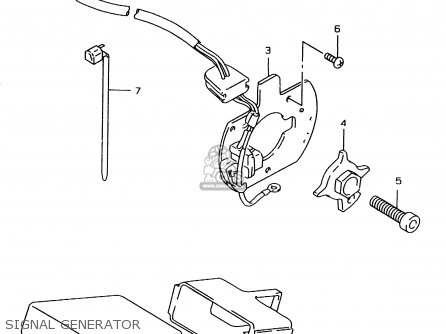 Suzuki GSF1200SA 1998 (W) (E17 E18 E22 E34) parts lists