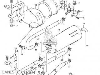 Suzuki Gsf1200z Bandit 2005 (k5) Usa (e03) parts list