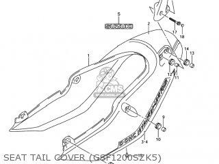 Suzuki GSF1200Z BANDIT 2005 (K5) USA (E03) parts lists and