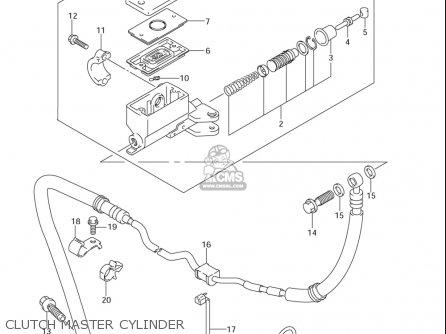 Suzuki Gsf1250 Sa (usa) parts list partsmanual partsfiche