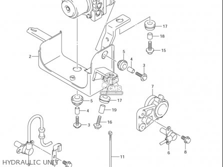 Suzuki Gsf1250 Sa (usa) parts list partsmanual partsfiche