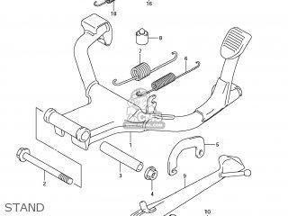 Suzuki GSF1250S BANDIT 2008 (K8) USA (E03) parts lists and