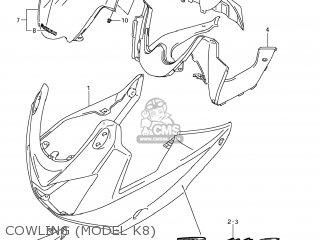 Suzuki GSF1250S BANDIT 2009 (K9) USA (E03) parts lists and