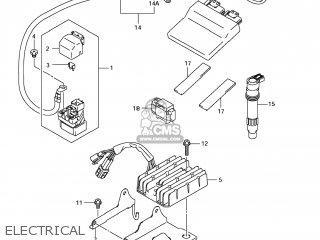 Suzuki GSF1250SA BANDIT 2007 (K7) USA (E03) parts lists