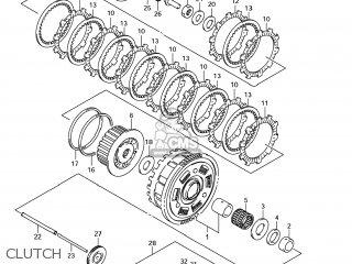 Suzuki GSF1250SA BANDIT 2008 (K8) CALIFORNIA (E33) parts