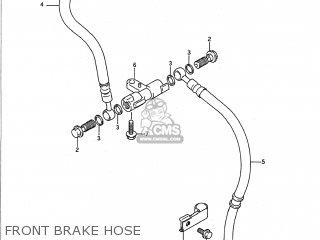 Suzuki Gsf400 Bandit 1991 (m) Usa (e03) parts list