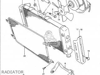 Suzuki GSF400 BANDIT 1991 (M) USA (E03) parts lists and