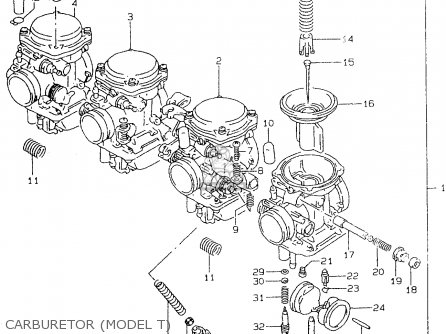 Suzuki Gsf600 1995 (s) parts list partsmanual partsfiche