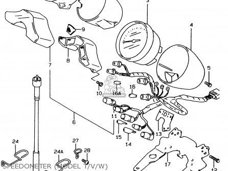 Suzuki GSF600 1995 (S) (E02 E04 E18 E22 E25 E34) parts
