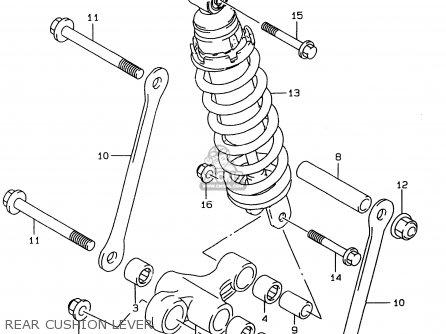 Suzuki GSF600 1996 (T) (E02 E04 E17 E18 E22 E25 E34) parts