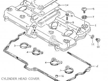 Suzuki GSF600 1997 (V) (E02 E04 E17 E18 E22 E25 E34) / P37