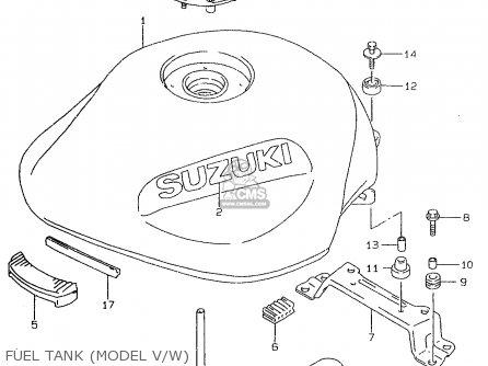 Suzuki GSF600 1999 (X) (E02 E04 E17 E18 E22 E25 E34) / P37