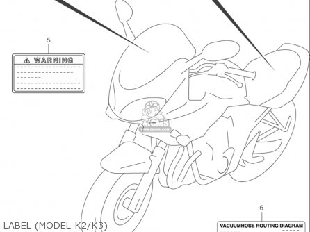 Suzuki Gsf600 S Bandit 2000-2003 (usa) parts list