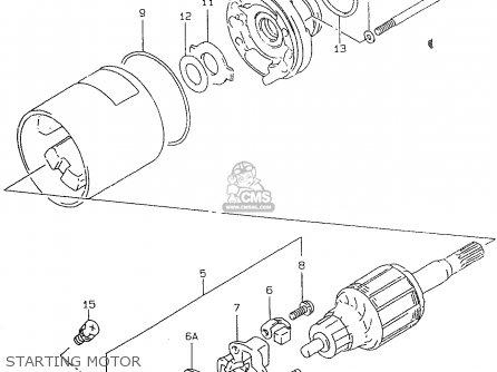 Suzuki Gsf600s 1996 (t) (e02 E04 E17 E18 E22 E24 E25 E34