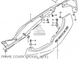 Suzuki GSF600S BANDIT 1997 (V) USA (E03) parts lists and