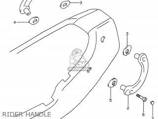 Suzuki GSF600S BANDIT 1999 (X) USA (E03) parts lists and