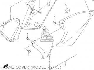 Suzuki Gsf600s Bandit 2000 (y) Usa (e03) parts list