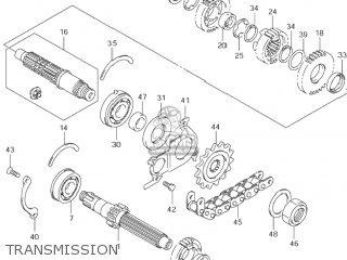 Suzuki Gsf600s Bandit 2001 (k1) Usa (e03) parts list