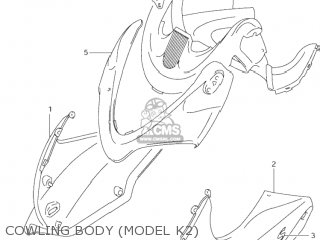Suzuki GSF600S BANDIT 2002 (K2) USA (E03) parts lists and