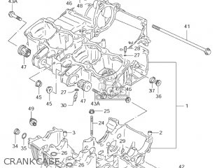 Suzuki GSF600S BANDIT 2002 (K2) USA (E03) parts lists and